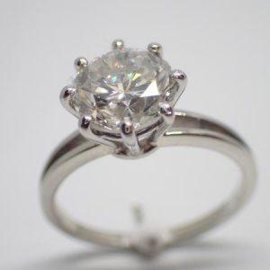 Diamant, 2,11 carats, certifié