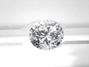 Diamant brillant, 1,01 carat, H SI1