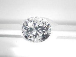 Diamant brillant, 1,10 carat, K SI1