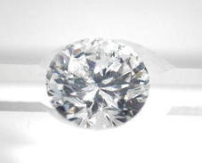 Diamant brillant 1,23 carat, P1 -I