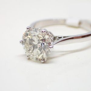 Diamant brillant 2,37 carats