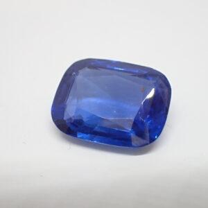 exceptionnel saphir coussin certifié naturel, Sri Lanka, 7,90 carats